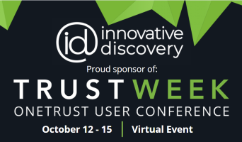 """Featured image for """"Innovative Discovery to Host a Virtual Booth at OneTrust's Annual TrustWeek Event"""""""