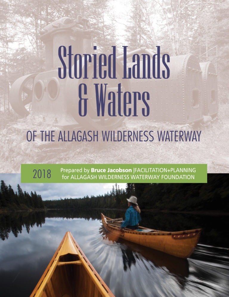 Storied Lands & Waters book cover