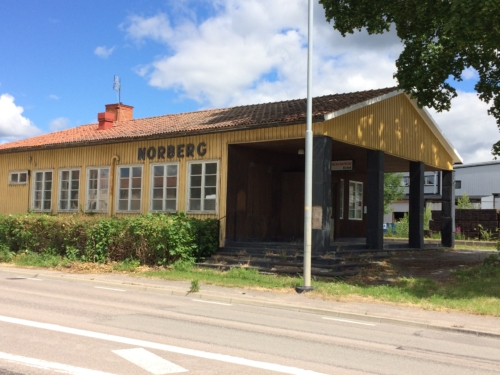 Former Norberg train station.