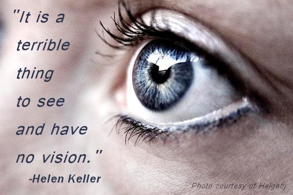 SEEING VERSUS VISION