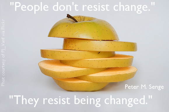 Resistance to change image