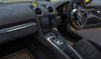 Porsche Cayman 718 full