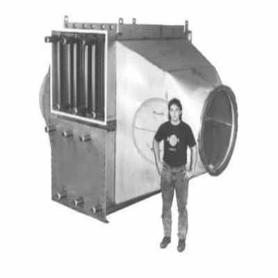 Custom 6 core heat exchanger