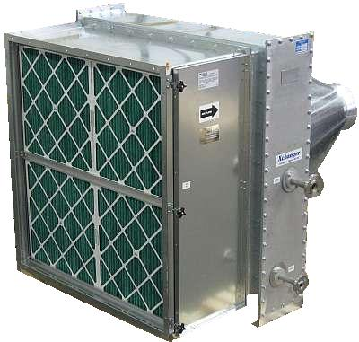 Air Heater with Side-Removable Filter Pack