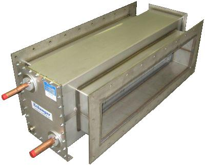 Cryogenic heat exchanger liquid nitrogen air cooler