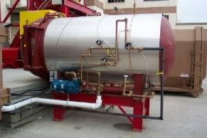 Xchanger heat exchangers are used in autoclaves to cool and protect vacuum pumps
