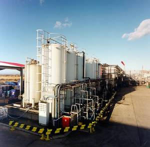 Xchanger heat exchangers are used in refineries and tank farms to condense vapors for pollution control