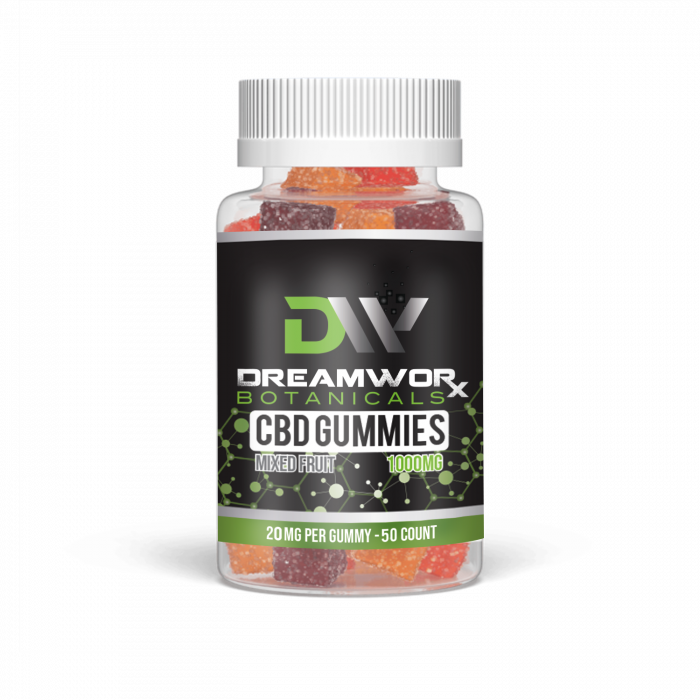 CBD GUMMIES 1000MG-20mg-50CT