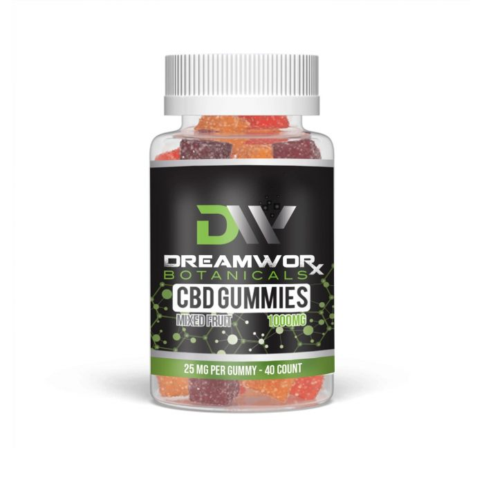 CBD_gummies_1000mg_40CT_25mg_dreamworx_botanicals