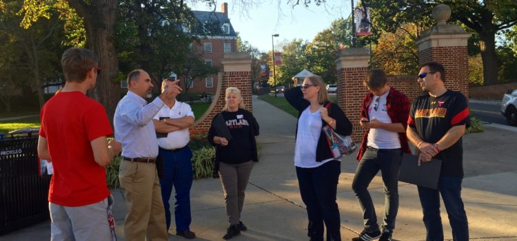 Partnership Hosts Event for University Community at Family Weekend