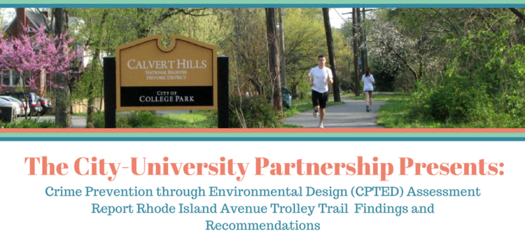 Trolley Trail Crime Prevention Through Environmental Design Analysis