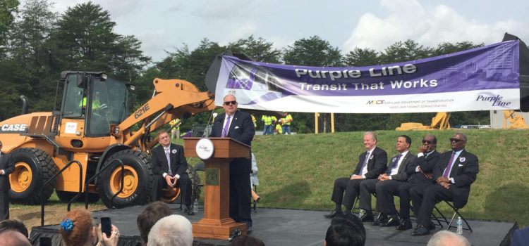 Celebration of Full Federal Funding for the Purple Line