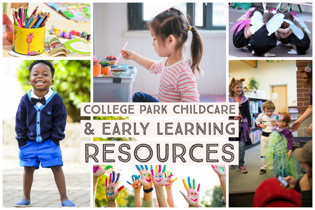 College Park Childcare, Preschool and Early Learning Resources