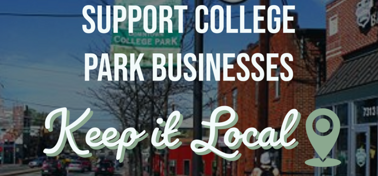 Support Local College Park Businesses – COVID 19
