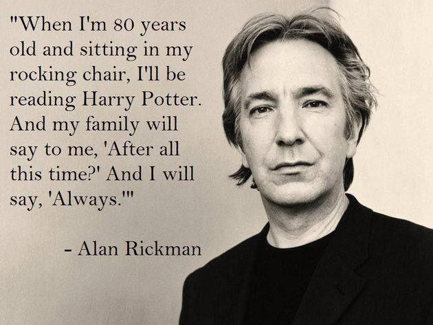 Alan Rickman: A Stranger's Tears