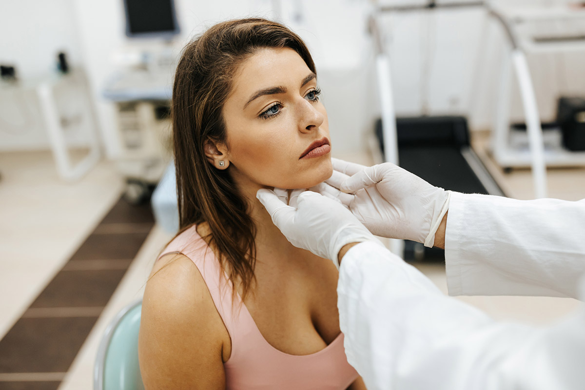 Getting Thyroid Checked By Doctor