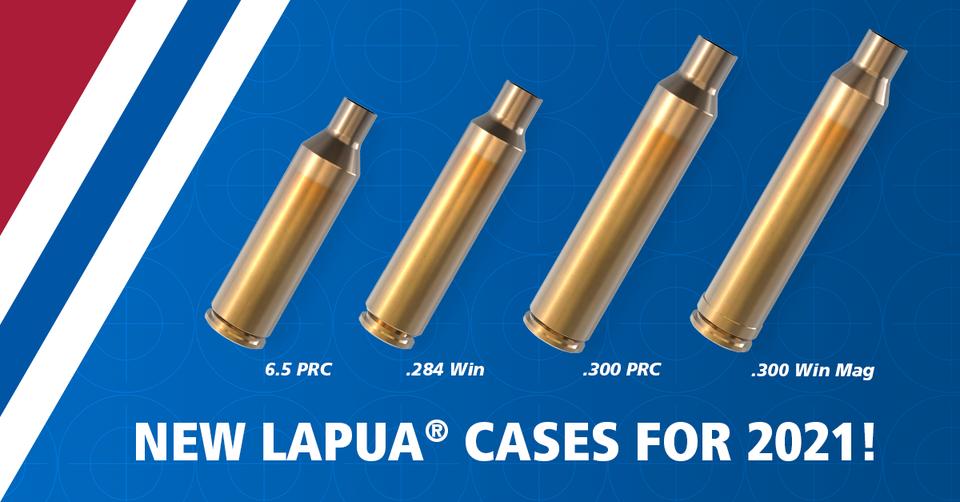 Lapua Brass New Calibres