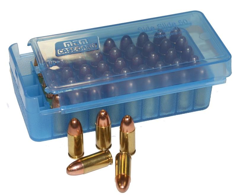 MTM Side-Slide 50rd Pistol Ammo Boxes