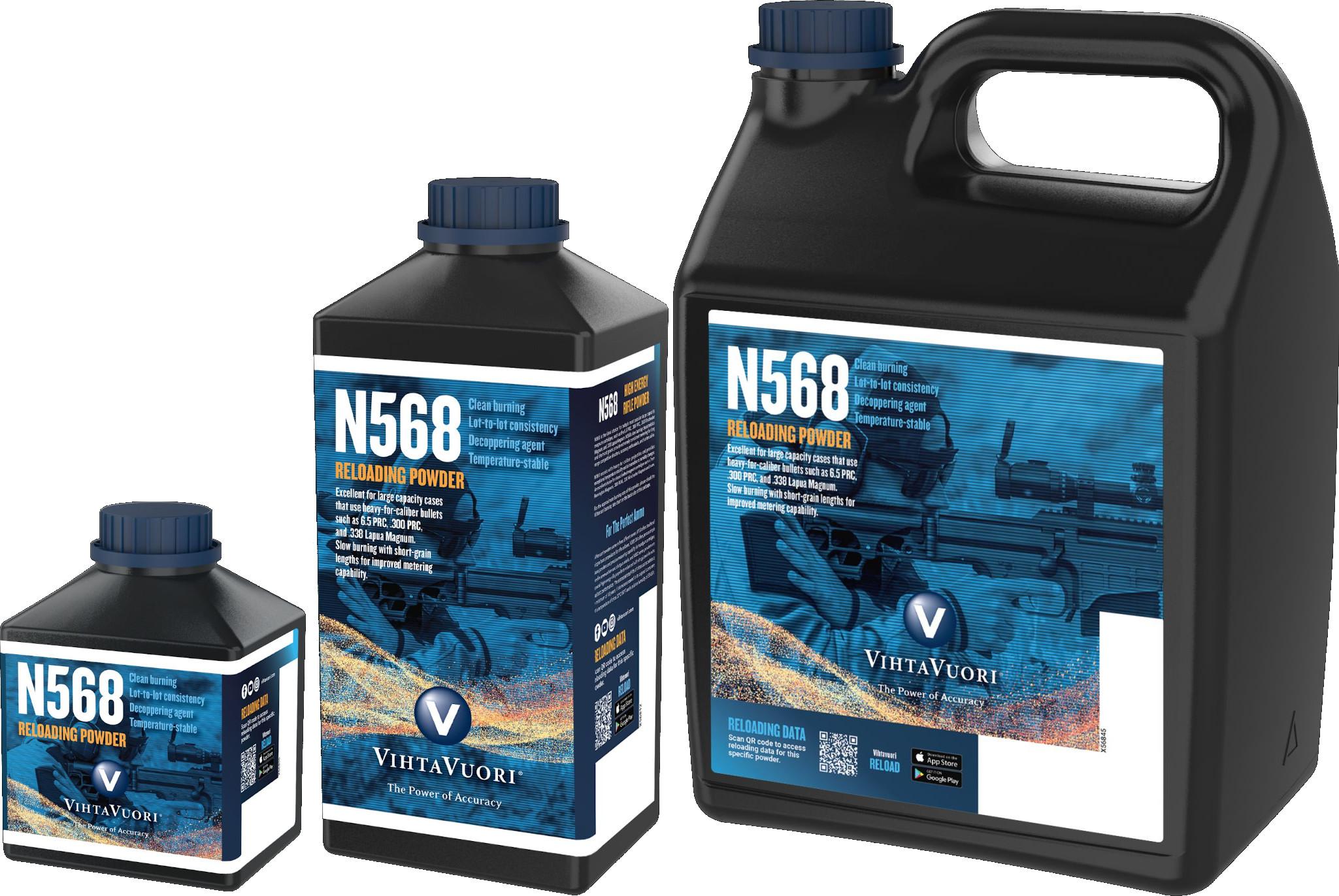 Vihtavuori N568 high energy powder