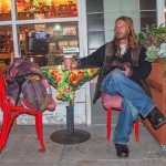 12.-DHCA-SF8-683-16-Hippie-With-Coffee-and-Phone,-Haight-Ashbury