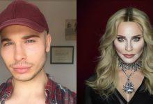 Só com maquiagem, drag queen se transforma em qualquer celebridade (foto: Reprodução)