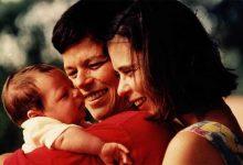 Cássia Eller com a mulher Maria Eugênia Vieira e o filho das duas, Chicão. (Foto: Divulgação)