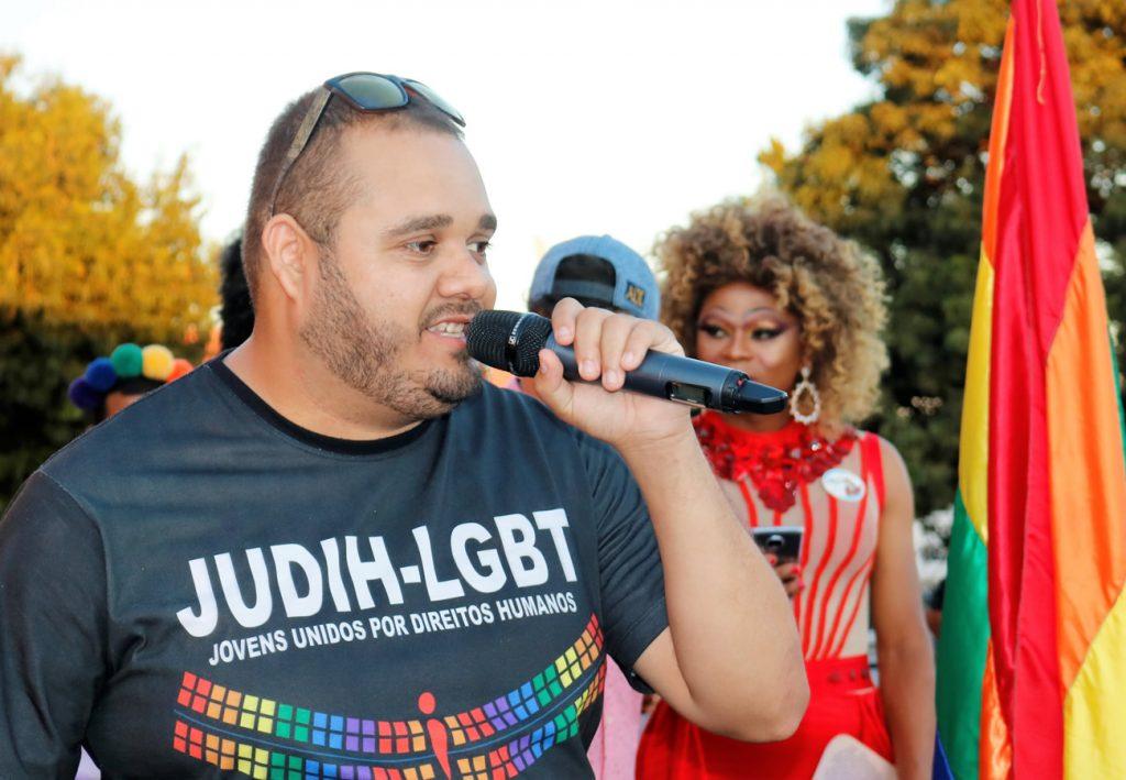 Henrique Elias, vice presidente da ONG JUDIH-LGBT (Foto: Ernane Queiroz/Gay1)