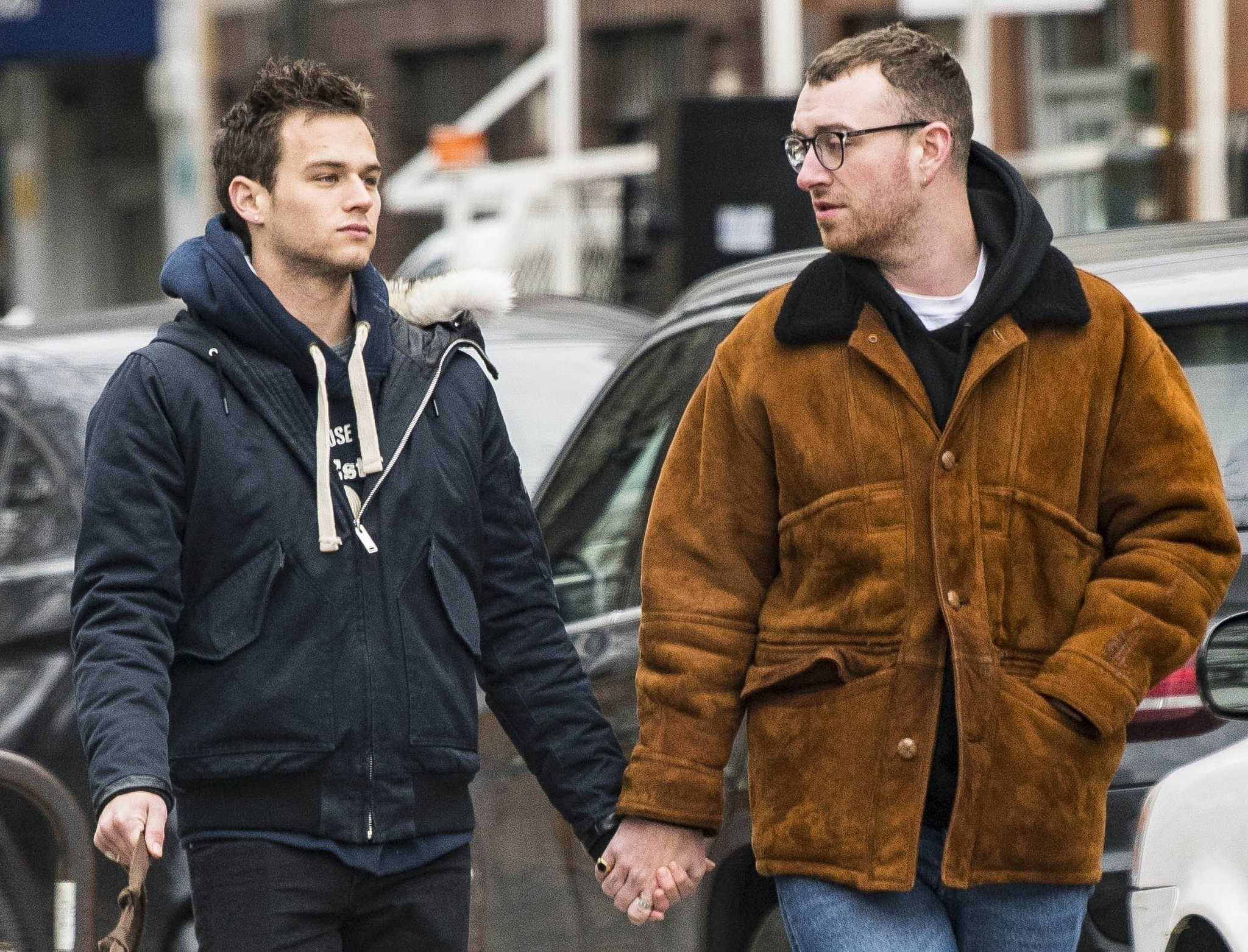 Sam Smith e Brandon Flynn estavam namorando desde outubro do ano passado. (Foto: Popsugar)