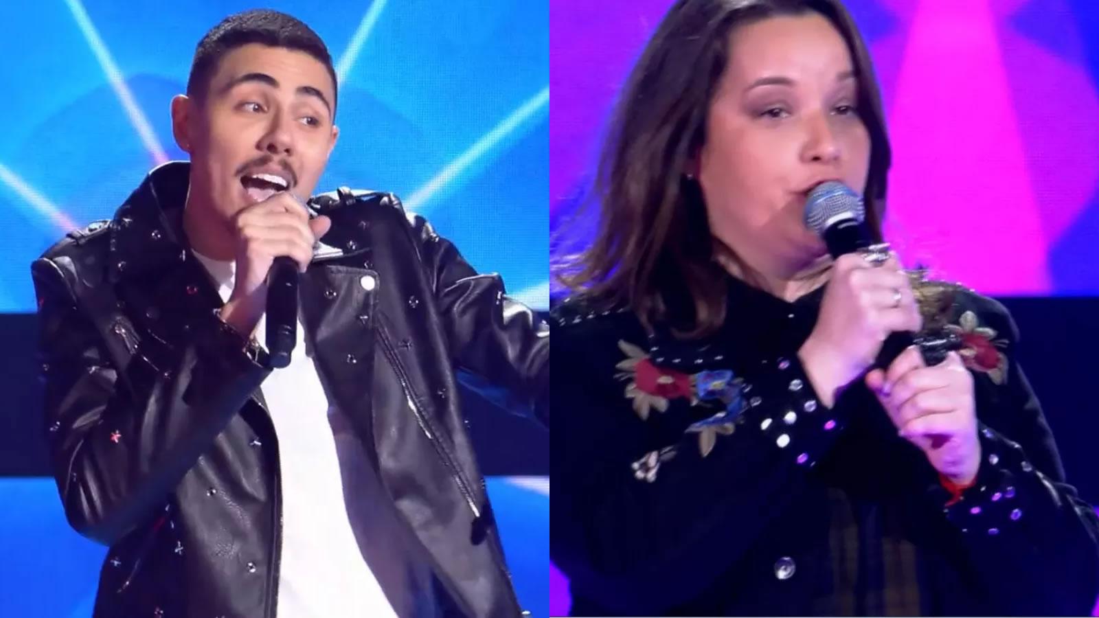 Gika Bacci e Renan Cavolik tiveram as cadeiras viradas no reality e estarão na próxima fase do programa da Globo. (Foto: Divulgação/Globo)