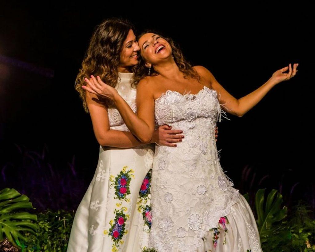 A cantora Daniela Mercury e a esposa Malu Verçosa. (Foto: Reprodução/Instagram)