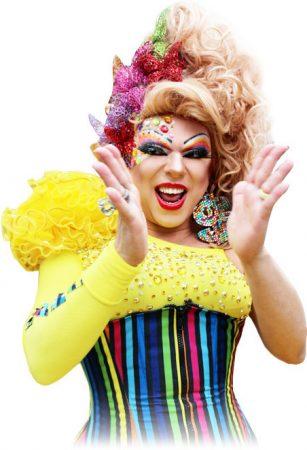 A ato contará com dois trios elétricos e a presença da apresentadora oficial da Parada de São Paulo, a drag queen TchaKa, famosa por animar festas e participar de programas de televisão. (Foto: Divulgação)