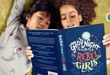 Crianças lendo o livro 'Good stories for rebel girls'. (Foto: Divulgação)