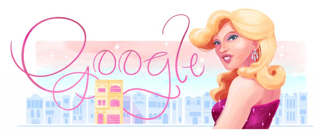 Google Doodle recorda os 71 anos da ativista dos direitos LGBTQI+, Brenda Lee Trans. (Foto: Reprodução)