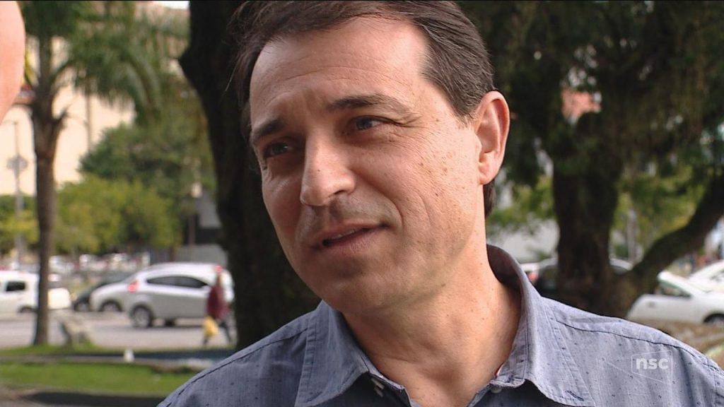 Carlos Moisés da Silva foi eleito pelo PSL, partido do presidente Bolsonaro. (Foto: Reprodução/TV NSC)