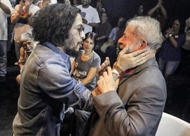 Jean Wyllys e Lula. (Foto: Divulgação/Facebook)