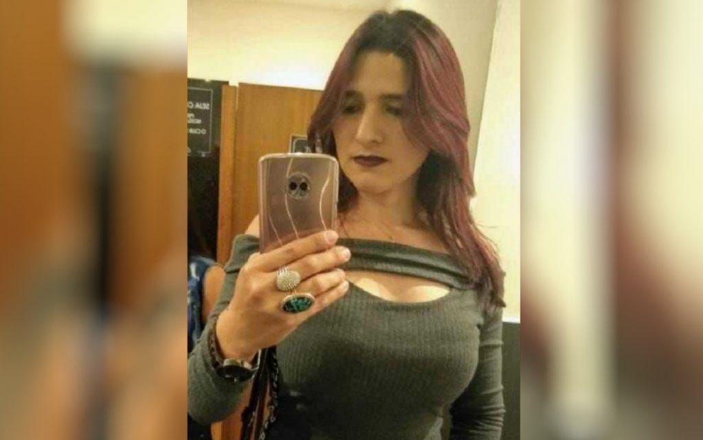 Vanusa da Cunha Ferreira morreu após transportar passageiro, em Goiânia. (Foto: Reprodução/TV Anhanguera)