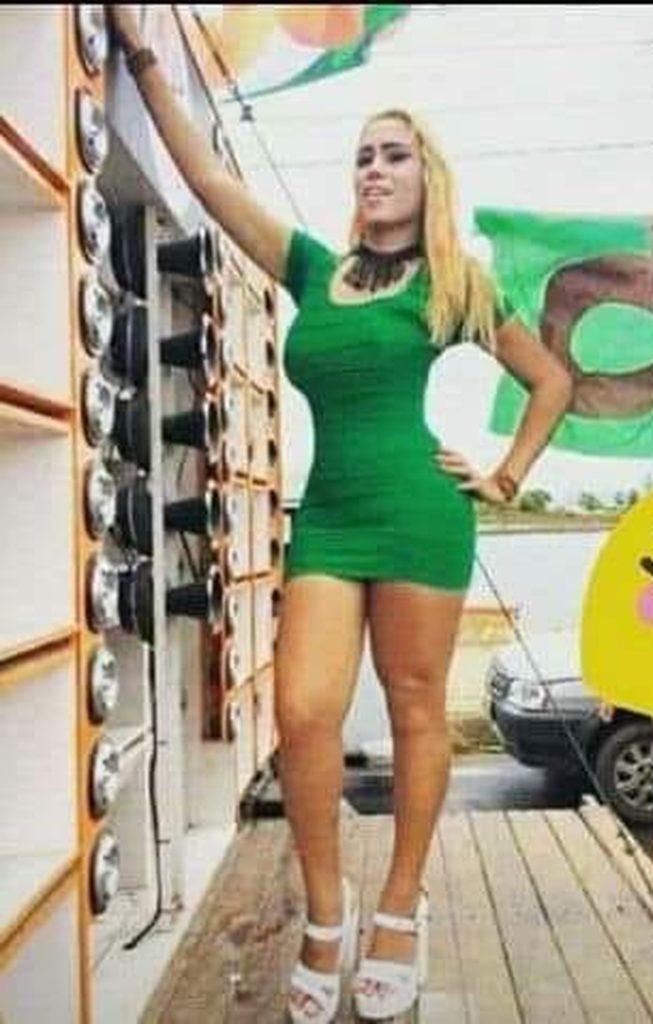 Rayssa sofreu tentativa de homicídio em Caucaia, no Ceará. (Foto: Reprodução)