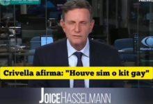 Joice compartilhou vídeo de Crivella defendendo boato. (Foto: Reprodução)