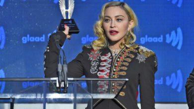 Madonna recebeu o Advocate for Change Award 2019. (Foto: Divulgação)