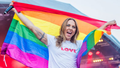 A cantora britânica e eterna Spice Girl Melanie C será a atração principal do ParadaSP Fest. (Foto: Divulgação)