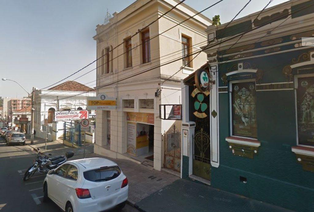 Local onde estudante foi agredida em São Carlos. (Foto: Reprodução/Google Maps)