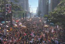 23ª Parada do Orgulho LGBT de São Paulo reuniu 3 milhões de pessoas na Avenida Paulista. (Foto: Ernane Queiroz/Gay1)