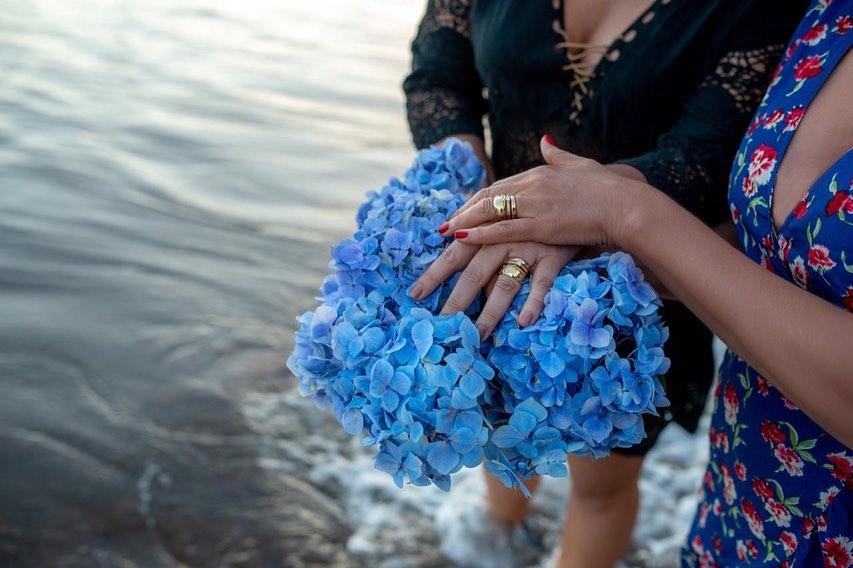 Daniela Mercury e Malu Verçosa se casam em Portugal. (Foto: Pedro Taborda/Reprodução/Instagram)
