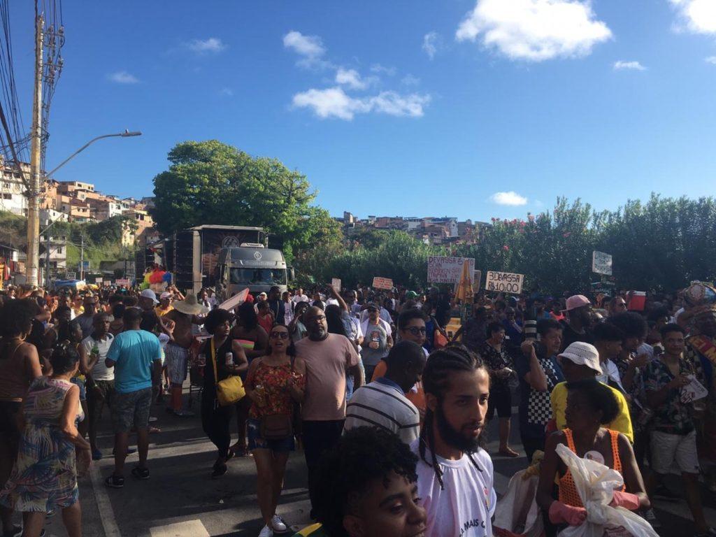 Parada LGBT de Salvador esse ano acontece na região do Dique do Tororó. (Foto: João Souza)