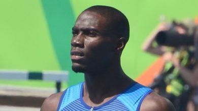 Kerron Clement nas Olimpíadas do Rio. (Foto: Reprodução / Instagram)