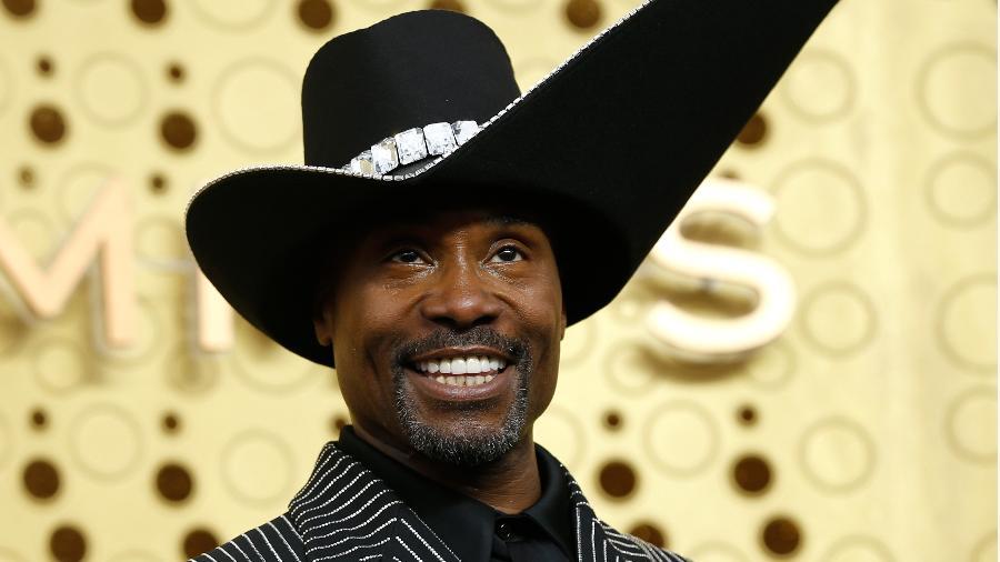 Billy Porter chamou atenção com um chapéu durante o Emmy. (Foto: Mario Anzuoni/Reuters)