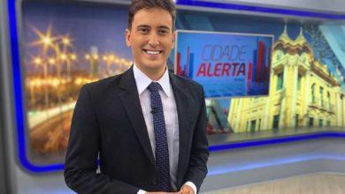 Tarcis Duarte no Cidade Alerta, programa da Record, de Minas Gerais. (Foto: Divulgação)