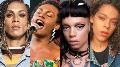 Mulheres trans, negras e cantoras para incluir em suas playlists. (Foto: Reprodução/Divulgação/Arte Gay1)
