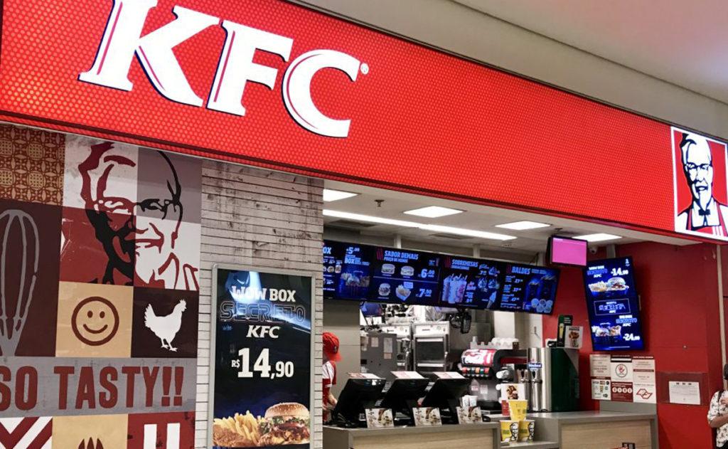 Rede de fast food internacional KFC começou a operar recentemente em Curitiba. (Foto: Divulgação)