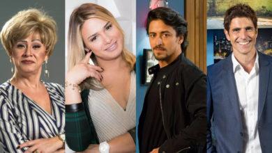 Nany People, Glamour Garcia, Jesuíta Barbosa e Reynaldo Gianecchini são as indicações de 2019. (Foto: Divulgação)
